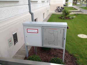 Wandhydrant Steigleitung